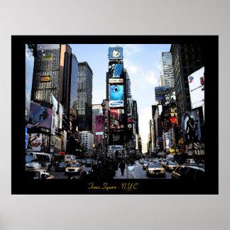 Times Square - N.Y.C.  Poster print