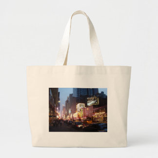 Times Square New York Canvas Bags