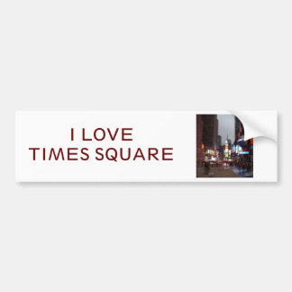Times Square New York Bumper Sticker