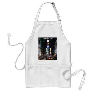 Times Square New York City Apron