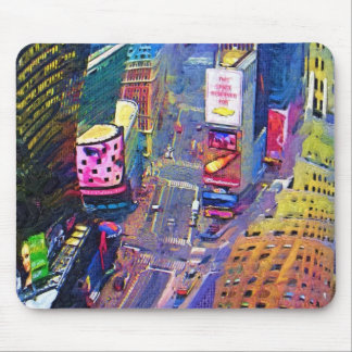 Times Square New York City Mouse Mat