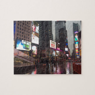 Times Square New York City NYC Neon Signs Photo Jigsaw Puzzle