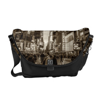 Times Square, New York City Photo Courier Bag