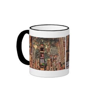 Times Square, New York City Ringer Mug