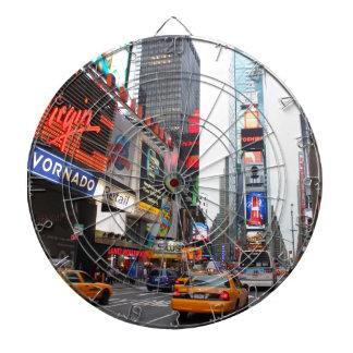 Times Square, New York City, USA Dartboard