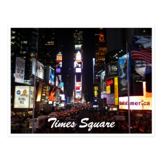 times square new york postcard