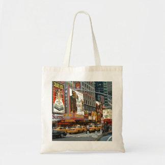Times Square NY Canvas Bag
