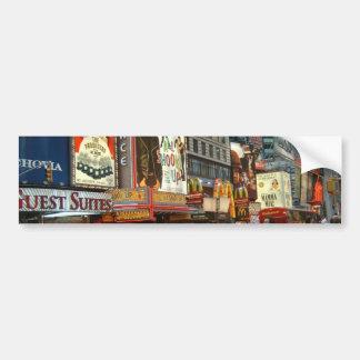 Times Square NY Bumper Sticker