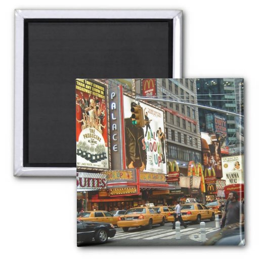Times Square NY Magnets