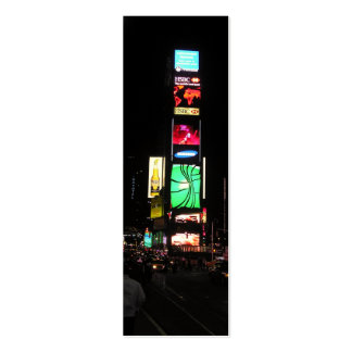Times Square-NYC 2 Bookmark Pack Of Skinny Business Cards