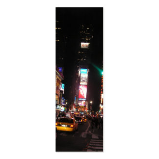 Times Square-NYC Bookmark Pack Of Skinny Business Cards