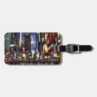 Times Square Photo in HDR Luggage Tag