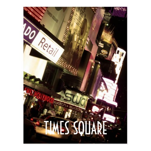 Times Square Post Cards