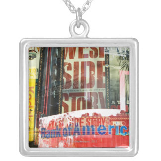 Times Square Silver Plated Necklace