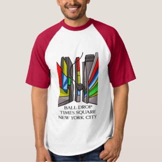 Times Square Wrecking Ball Drop New Years T-Shirt