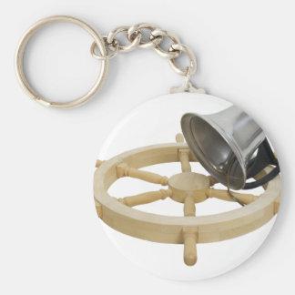 TimeSetSail072209 Basic Round Button Key Ring