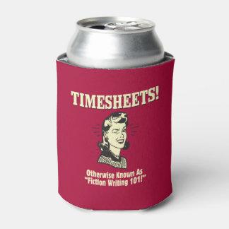 Timesheets: Fiction Writing 101