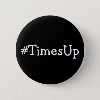 #TimesUp Solidarity Against Abuse and Harrassment 6 Cm Round Badge