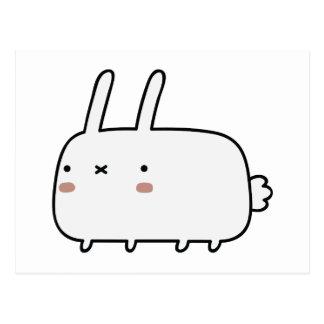 Timid Rabbit Postcard