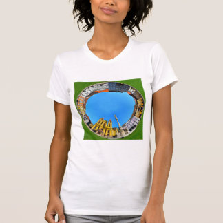 timisoara city romania union square panorama piata T-Shirt