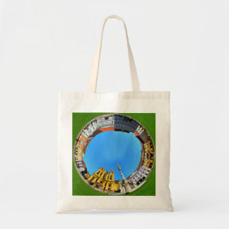 timisoara city romania union square panorama piata tote bag