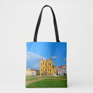 Timisoara dome landmark architecture travel touris tote bag