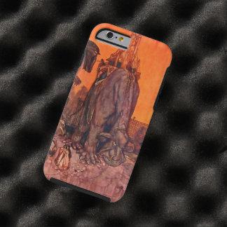 Timlin Fairy Zoo Vintage Fantasy Watercolor Art Tough iPhone 6 Case