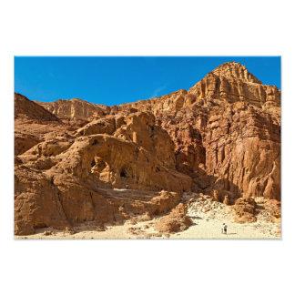 Timna national geological park photo print
