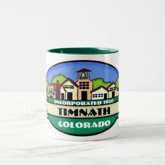 Timnath Colorado small town coffee mug