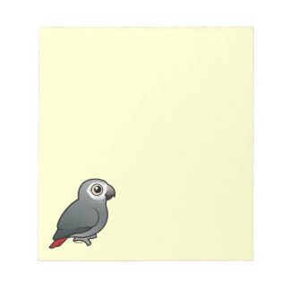 Timneh African Grey Parrot Notepads