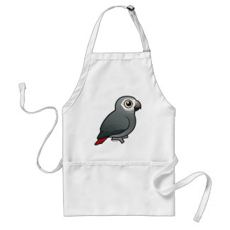 Timneh African Grey Parrot Standard Apron