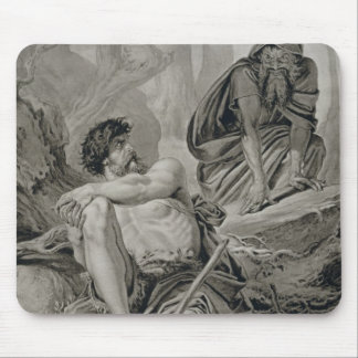 Timon and Apemantus, from Timon of Athens by Willi Mouse Mat