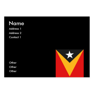 Timor-leste Business Card Template