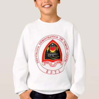 Timor-Leste Coat of Arms detail Sweatshirt