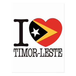 Timor-Leste Love v2 Post Card