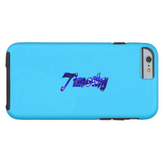 Timothy Blue Tough iPhone 6 case