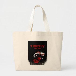 Timothy By Mark Tufo Jumbo Tote Bag