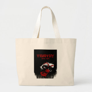 Timothy By Mark Tufo Jumbo Tote Bag