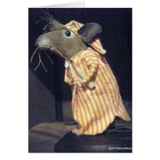 Timothy Mouse Greeting Card