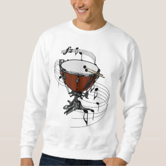 Timpani (Kettle Drum) Pullover Sweatshirt