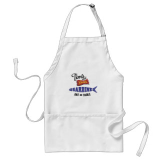 Tim's and Son's Sardine, Bait and Tackle Shop Aprons