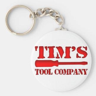 Tim's Tool Company Key Ring