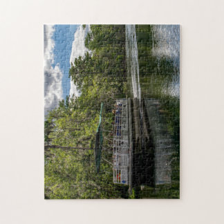 Timucuan on Silver River Jigsaw Puzzle