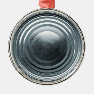 Tin Can Lid Christmas Ornament