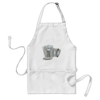 Tin Can Phone (Can you hear me NOW?) Standard Apron