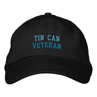 TIN CAN VETERAN cap Embroidered Hats