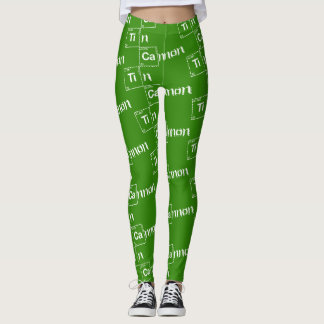 Tin Cannon Periodic Table Leggings