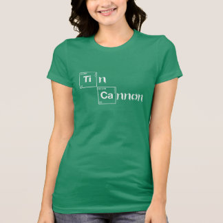 Tin Cannon Periodic Table Shirt - Ladies