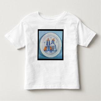 Tin-glazed earthenware plate, Lambeth, c.1689 Toddler T-Shirt