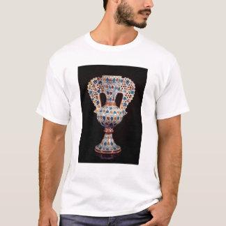 Tin-glazed vase with lustre decoration T-Shirt